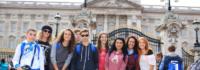 Gruppenfoto in London