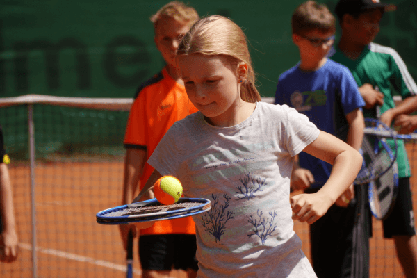 Tenniscamps im Sommer