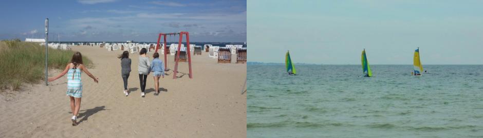 Strand in Schuby