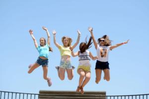 Jugendliche haben Spaß - Sprachreise Malta