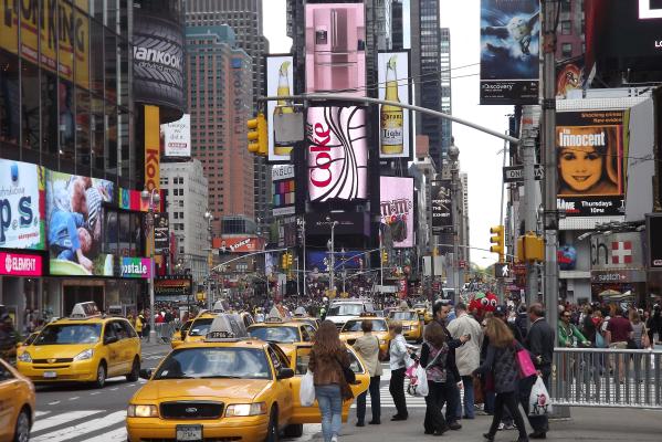 Großstadtleben in New York