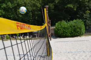 Beachvolleyball im Beachcamp