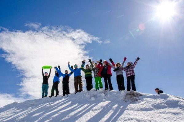 Gruppe im Ski- & Snowboardcamp Zillertal Arena