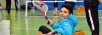 Tennis im Camp