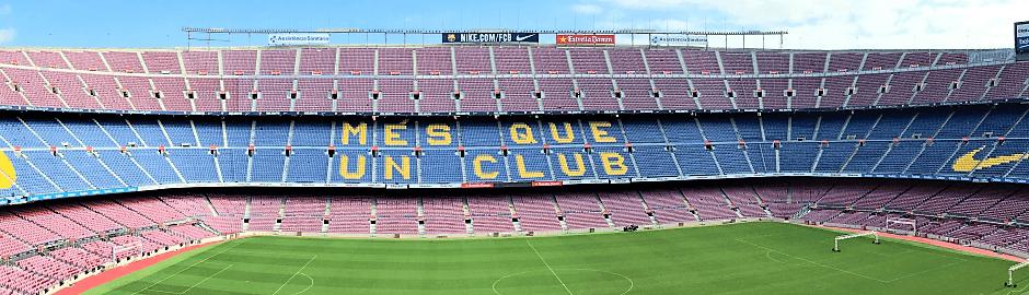 Im Camp-Nou Stadion