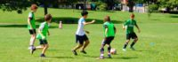 Jungs beim Training