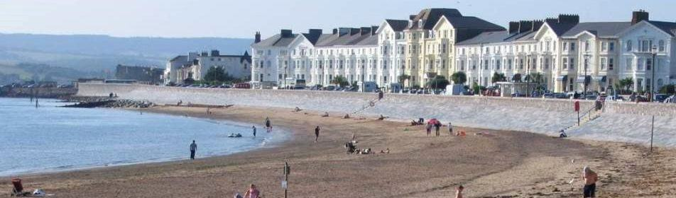 am Strand in England