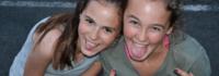 Mädchen im Exmouth Camp