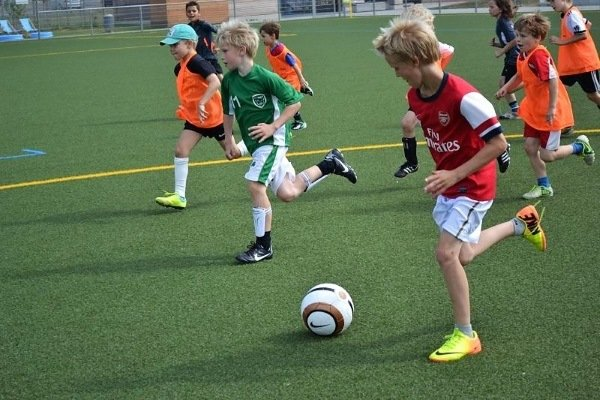 Fußballspielen im Multisportcamp
