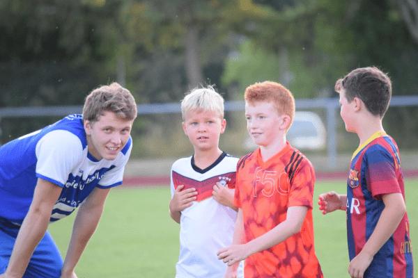 Trainer mit Kids