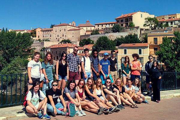 Sprachreise Salamanca Gruppenbild
