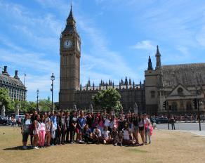 Gruppenfoto bei der Sprachreise Cambridge