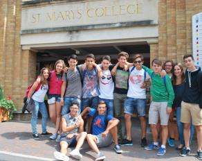 Gruppenfoto in Twickenham