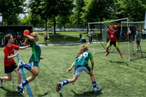 Handball Training im Handball Camp