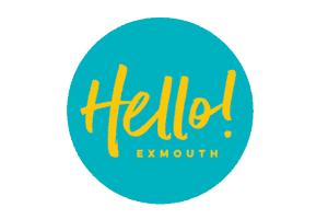 Hello Exmouth Logo