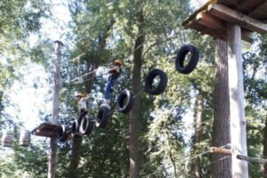 Kletterspaß in den Feriencamps in Holland