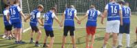 Teamspiele beim Fußballcamp