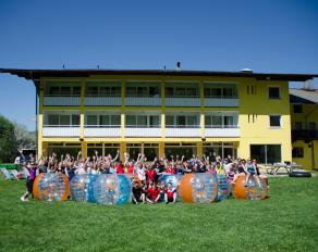 Gruppenfoto in Kössen