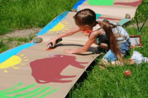 Feriencamps fördern die Kreativität