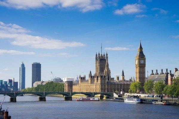 Skyline von London beim England Ausflug