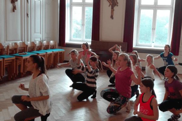 Musical Feriencamp Möwennest auf Sylt - Kinder haben Spaß