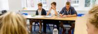 Deutschunterricht im Feriencamp