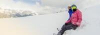 Entspannen im Schnee