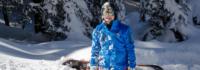 Skilehrer im Schnee