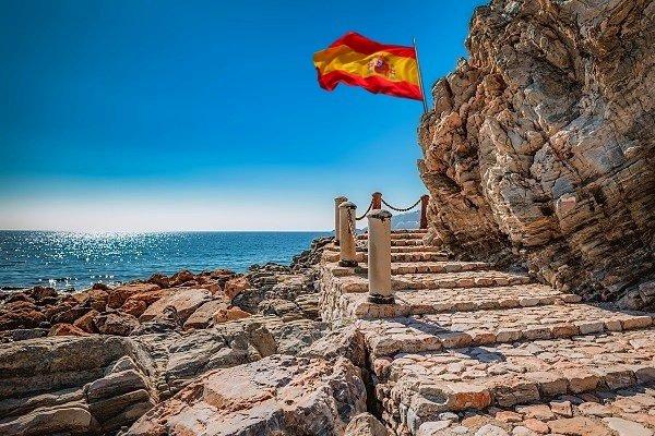 Küstenweg am Meer im Spanischcamp