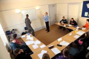 Sprachuntericht im Sprachcamp