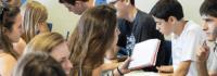 In der Sprachaschule