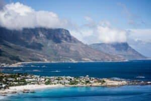 Eine herrliche Bucht bei den Feriencamps in Südafrika