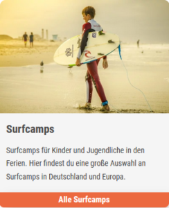 Surfcamps Kinder
