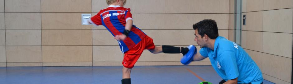 Teakwondo in der Halle