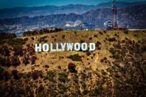 Der weltberühmte Hollywood-Schriftzug in Los Angeles
