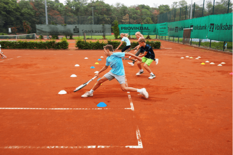 Optimales Stoppen lernen im Tenniscamp