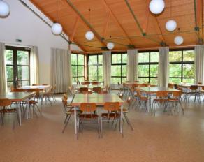 Speisesaal in Schuby