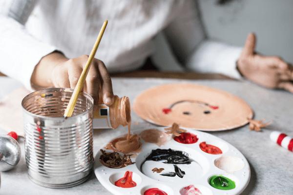 Basteln und Malen im Kreativurlaub