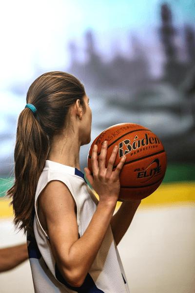 Basketball ist ein Sport für Jungen und Mädchen