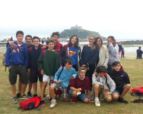Gruppenfoto in Bigbury