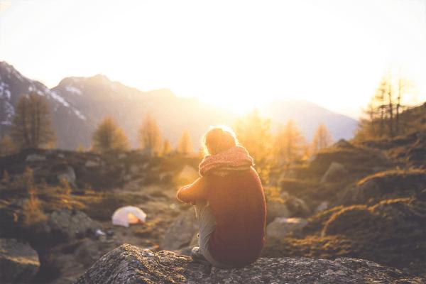 tolle Aussicht beim Natururlaub im Outdoor Camp
